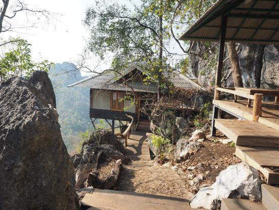 Chae Hom, Ταϊλάνδη: Abitazione dei monaci