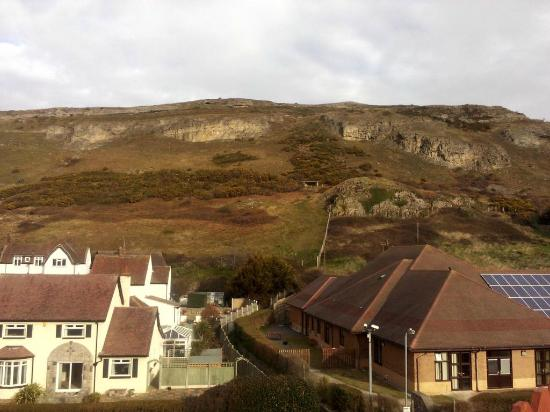 The Clontarf Hotel: View over the Orme from Room 8