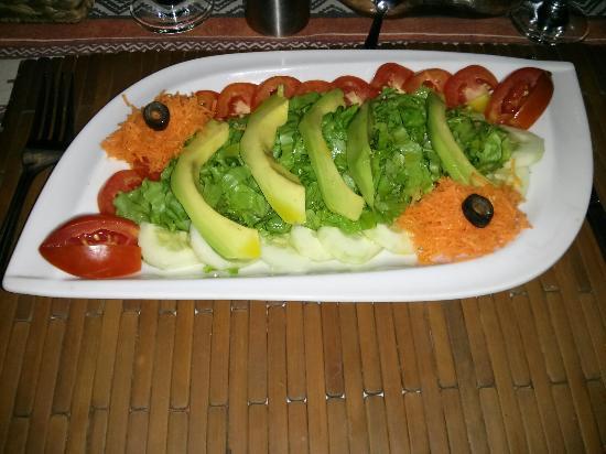 Hotel Mon Afrik: Salade
