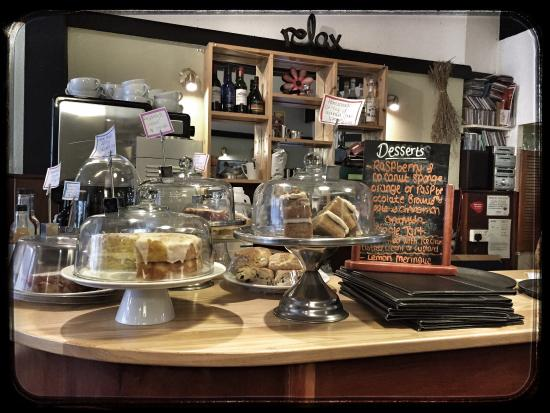 Lacemakers Cafe: Delicious desserts