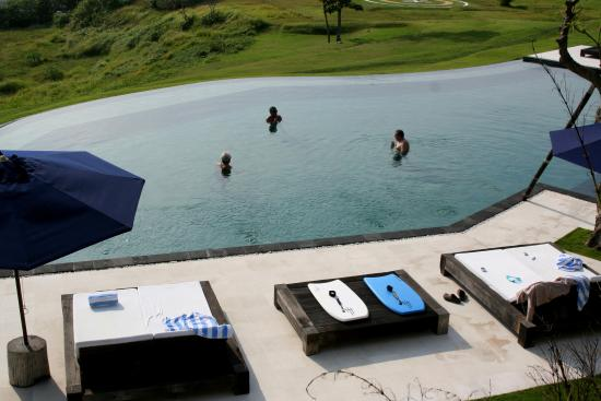 Villa Babar: vue sur piscine