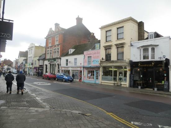 Whitstable Town Centre: Whitstable town