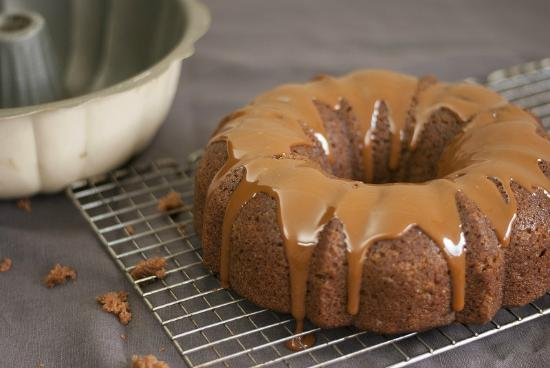 Fat Toad Farm: Applesauce Cake with Goat's Milk Caramel