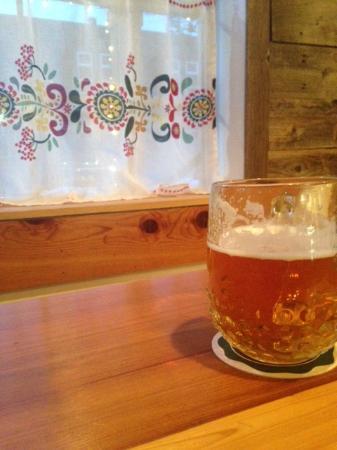 Glacier Haus Bistro & Pizza: BIG beers - Pilsner!