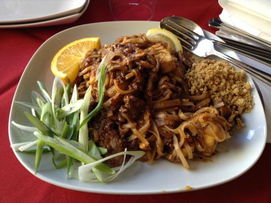 Malay chicken curry picture of thai culture oshawa for Asian cuisine oshawa