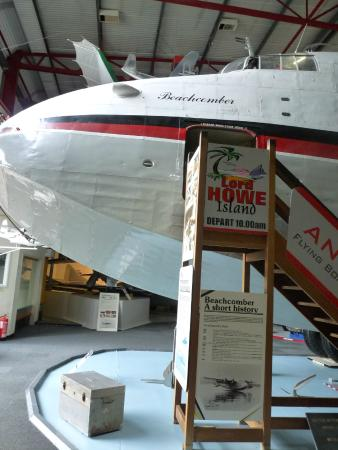 Solent Sky Museum : Climb into the cockpit of this huge Beachcomber