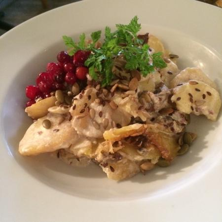 Latva Bar: Game Casserole - looks great and tastes great!