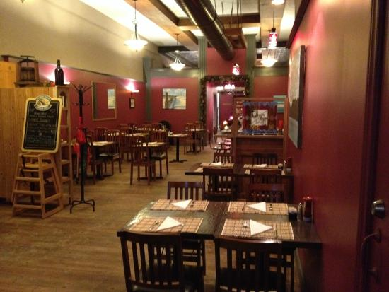 The Olde' Town Terrace: Front dining area
