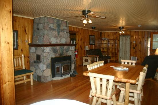 Remer, MN: Inside Homestead Cabin