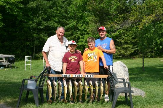 Remer, MN: Family Fishing, Timber Trails Resort