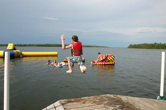 Remer, MN: Water Fun on Boy Lake