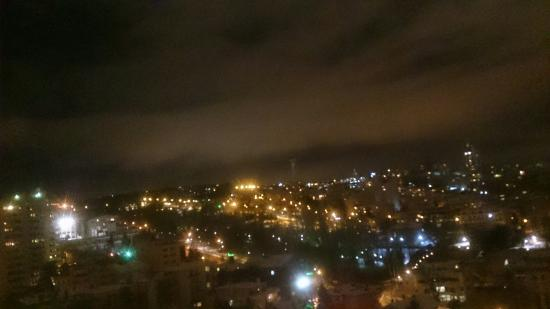 Sheraton Hotel & Convention Center Ankara: 1215 nolu odadan panoramik bir görüntü