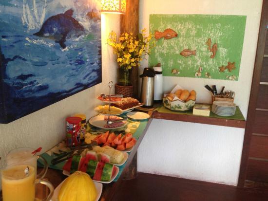 Jasmim dos Poetas: Café da manhã preparado com muito carinho pela Dona Flor e o Seu Carlito