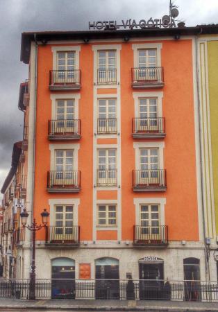 Hotel Via Gotica: Hotel Vía Gótica