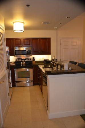 Marriott's Manor Club at Ford's Colony: kitchen-larger unit