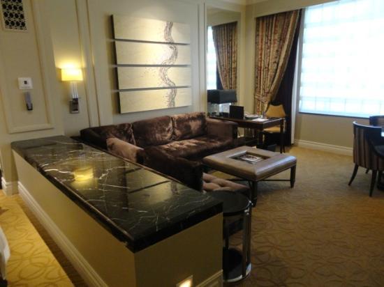 The Palazzo Resort Hotel Casino: Sunken Living Room