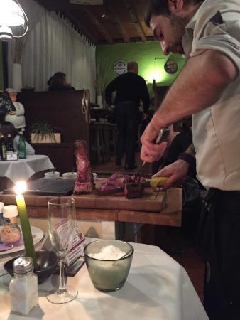La Tana del Gufo : Il taglio della fiorentina