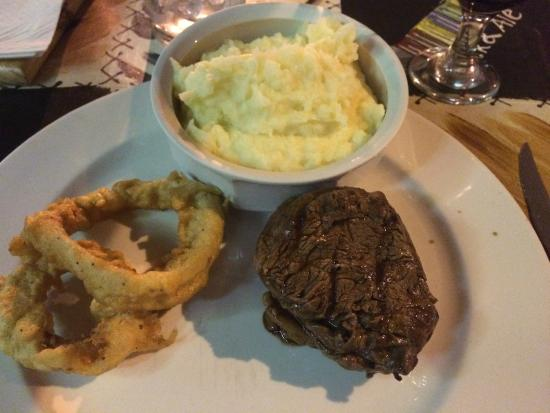 Steak and Ale: Nice fillet just cooked as asked!!!
