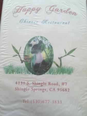 Shingle Springs. Close to the freeway. 80% of their business is take-out.