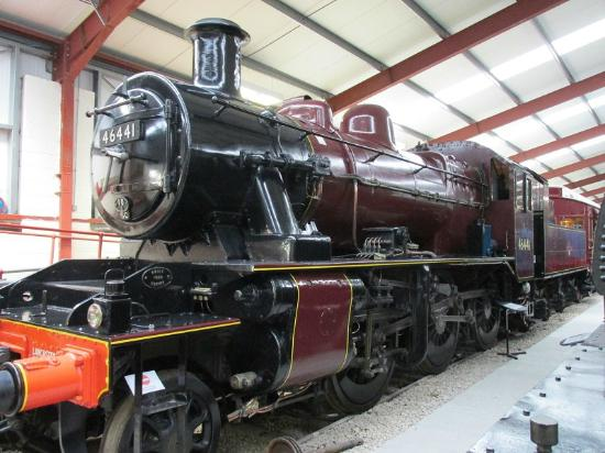 Ribble Steam Railway: LMS Ivatt BR 2MT loco