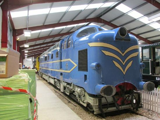 Ribble Steam Railway: Prototype Deltic on loan from the NRM