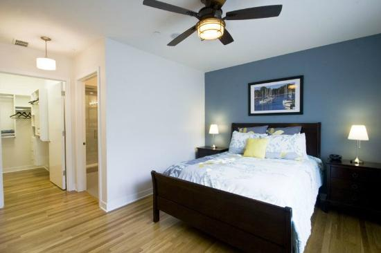 The Flats at Loyola Station: Master Bedroom