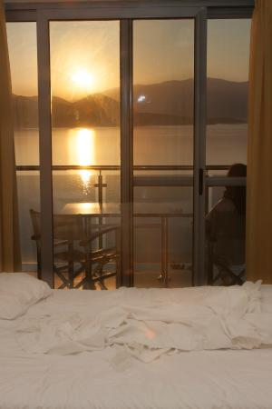 Adriatica Hotel Apartments: View from the bed
