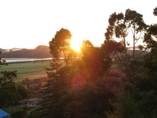 Rawene, Nowa Zelandia: sunrise