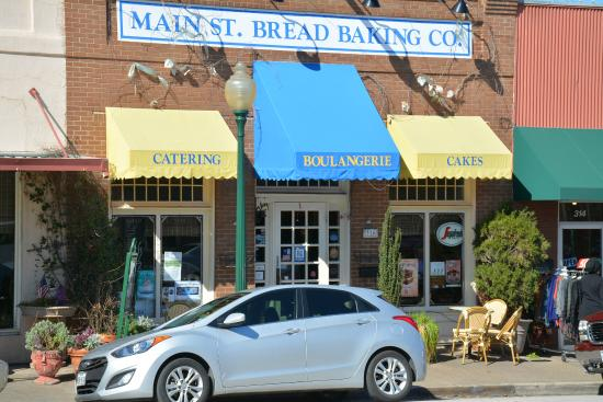 Main St Cafe and Bread Baking Co: Front of Main Street Bistro