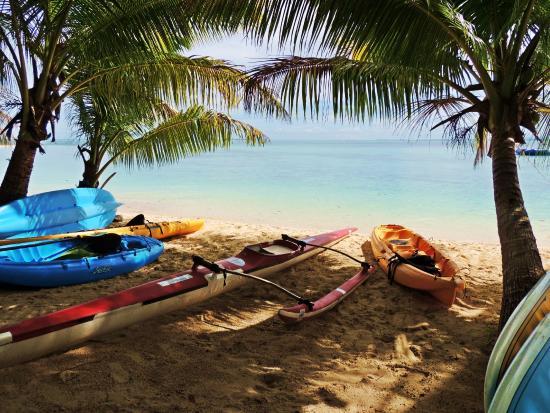 Leleuvia Island Resort: Water sport equipment for guests