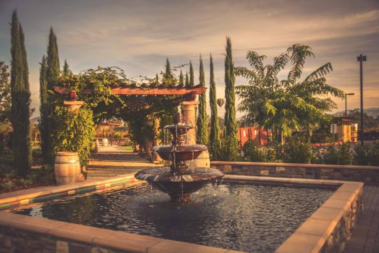 Lorimar Vineyards And Winery Fountain At