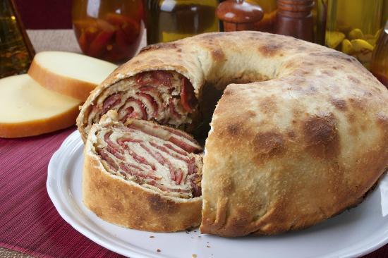 Valentina Pizzaria: Pão de Calabresa
