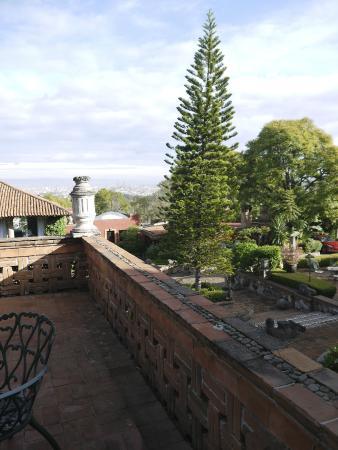 Villa Montana Hotel & Spa: Terrasse Zimmer