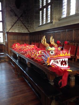 Hoghton Tower: dragon