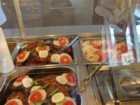 Riseland, Tobago: lunch menu