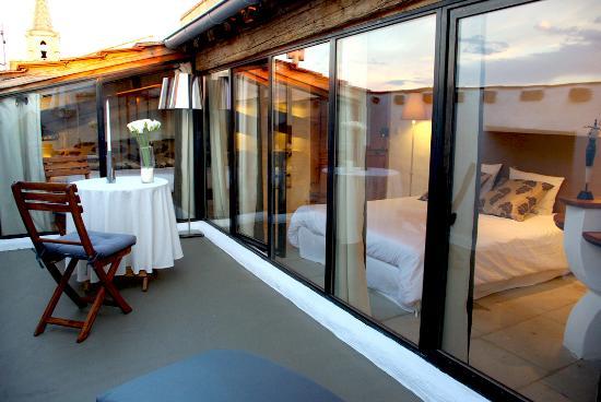 La Paloma: Diadem, chambre avec terrasse privative sur les toits