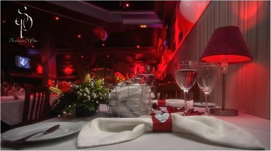 Restaurant Sao Pedro: Decor San Valentines Day 2015