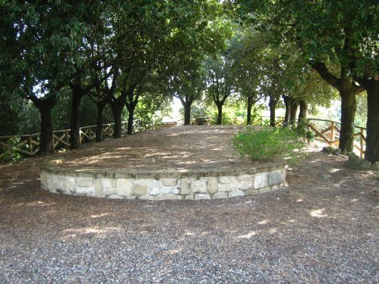 Montopoli in Val d'Arno, Italia: Poggio di Rocca - Il parco