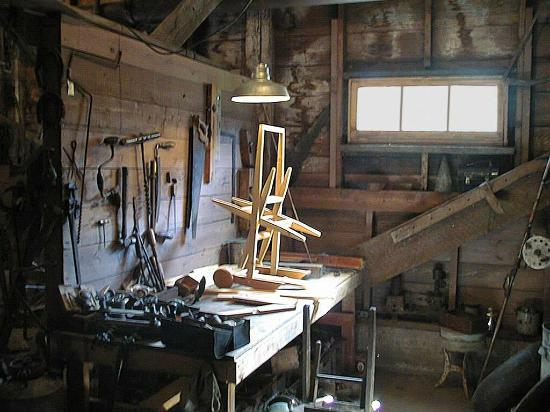 Kilby Historic Site: Basement Workshop