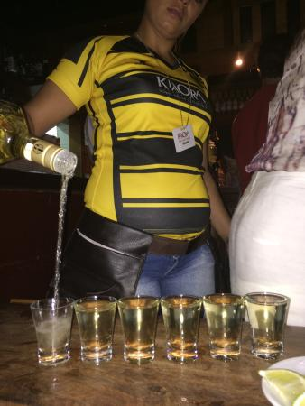 Kia Ora: Tequila moments