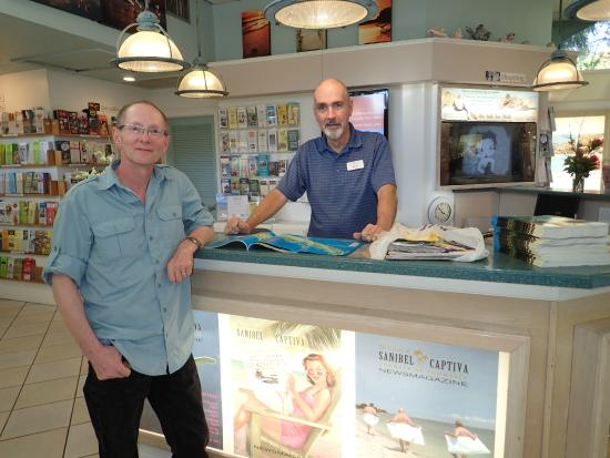 Sanibel and Captiva Chamber of Commerce and Visitors Center: Jim was so helpful!