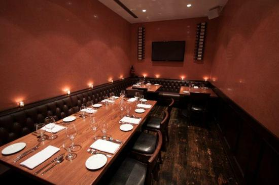 S Prime: Private Dining Room 2 (Red Room)