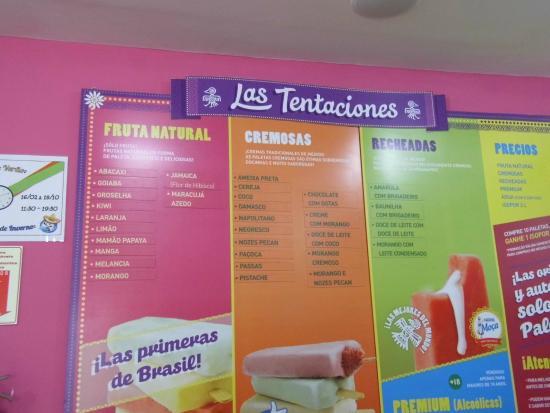 Sabores Picture Of Paleteria Mexicana Curitiba Tripadvisor