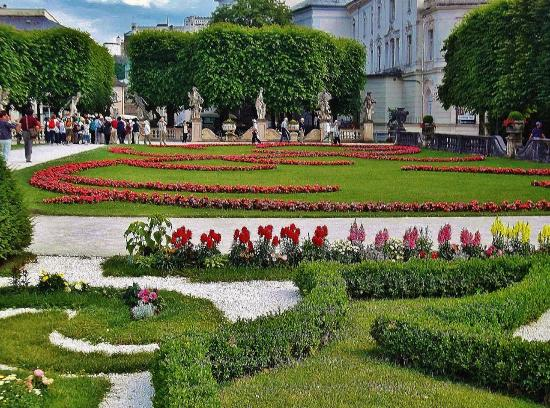 Schloss Mirabell und Gärten: Mirabellengarten