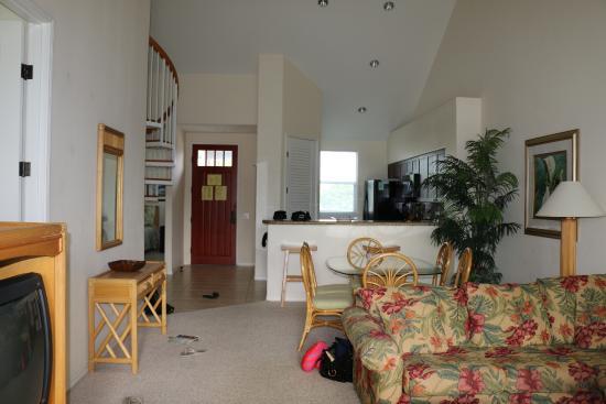 Fairway Villas: Living, kitchen area