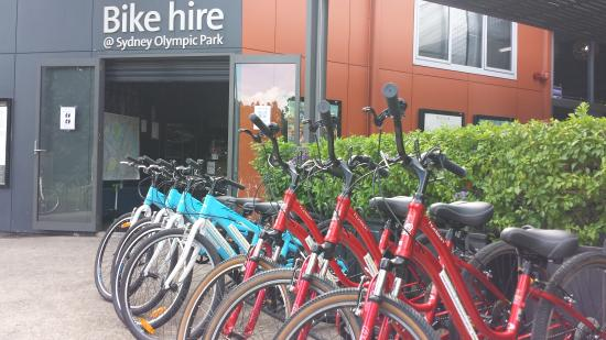 Bike Hire @ Sydney Olympic Park shop
