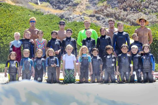 Surfin Fire  Premiere Surf lessons : Our Surfin Fire Family & Friends