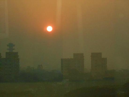 Hotel Sandy's Tower : Morning sunrise