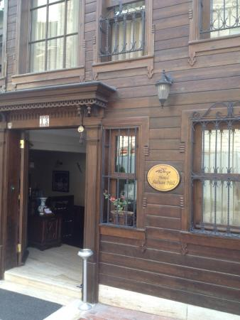 Hotel Sultan Hill: Entrada