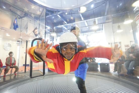 She S Flying Picture Of Virginia Beach Indoor Skydiving Tripadvisor